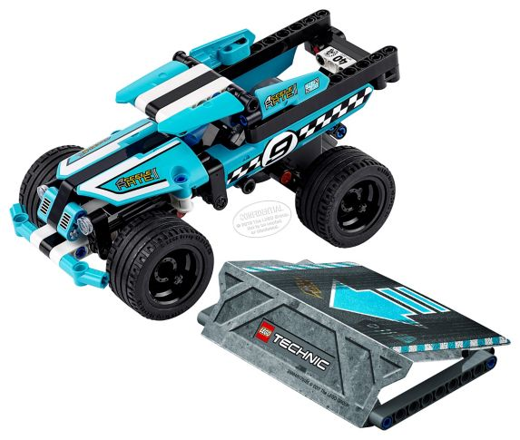 Lego Technic Stunt Truck, 142-pcs