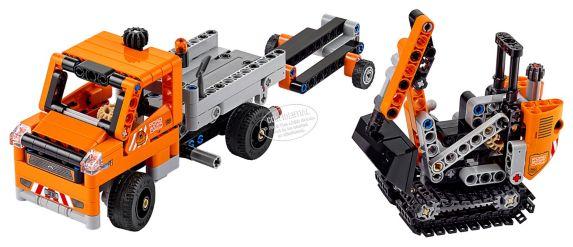 LEGO Technic L'équipe de réparation des routes, 365 pièces Image de l'article