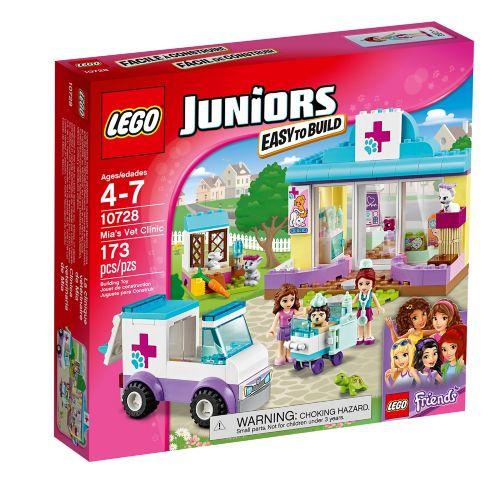 LEGO Juniors La clinique vétérinaire de Mia, 173 pièces Image de l'article