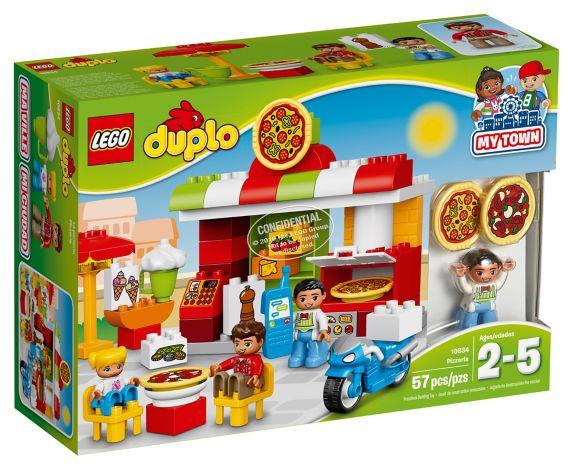 LEGO Duplo La pizzeria, 57 pièces