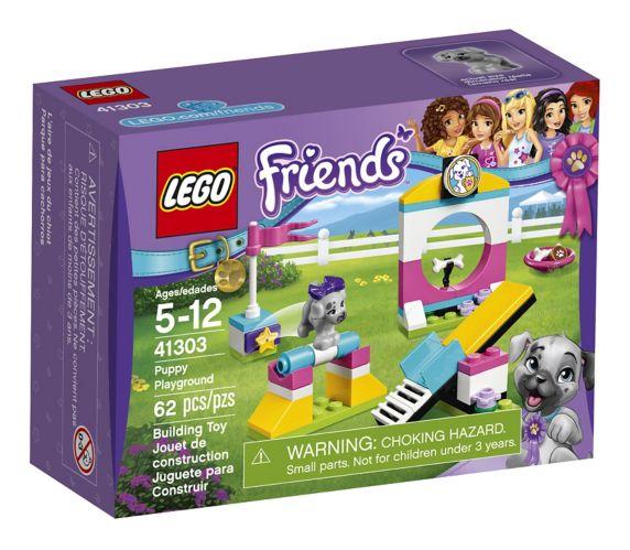Lego Friends Puppy Playground, 62-pcs