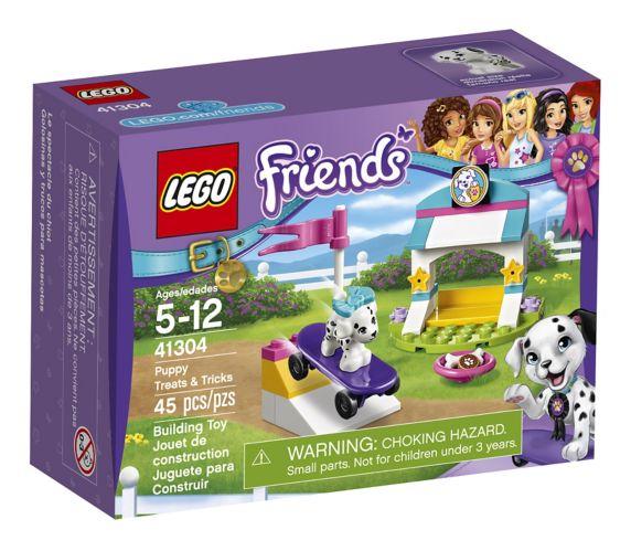 LEGO Friends Le spectacle du chiot, 45 pièces