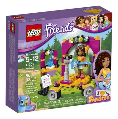 LEGO Friends Le duo musical d'Andréa, 86 pièces