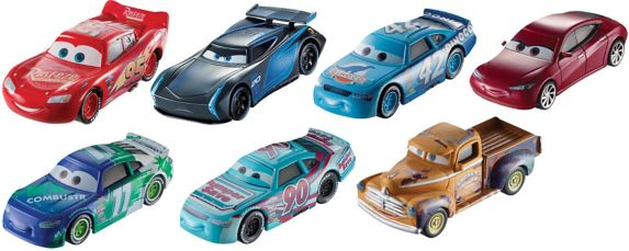 Cars 3 Diecast Single Cars, Assorted Product image