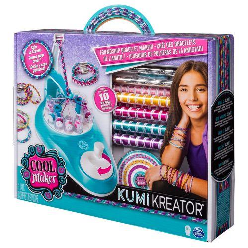 Cool Maker 2-in-1 KumiKreator Necklace & Friendship Bracelet Maker Activity Kit Product image
