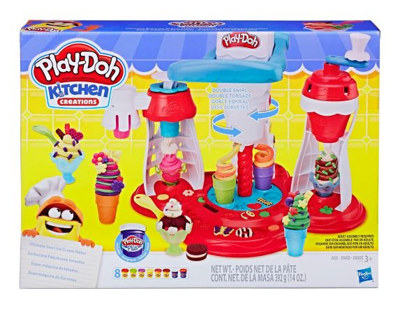 Play-Doh Ultimate Swirl Ice Cream Maker Playset Product image