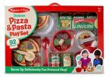 Melissa & Doug Deluxe Pizza & Pasta Playset, 92-pc | Melissa & Dougnull