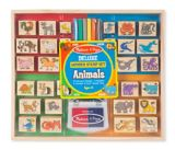 Melissa & Doug Deluxe Wooden Animal Stamp Set, 38-pc | Melissa & Dougnull