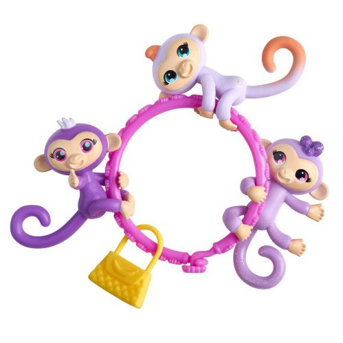 Fingerlings® Minis Baby Animals, Assorted, 3-pk