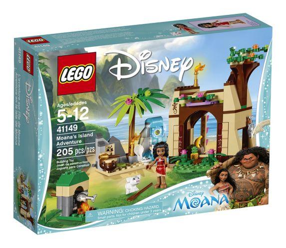 LEGO Disney L'aventure sur l'île de Moana, 205 pièces Image de l'article