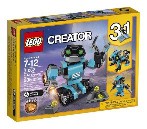 LEGO Creator Le robot explorateur, 205 pièces Image de l'article
