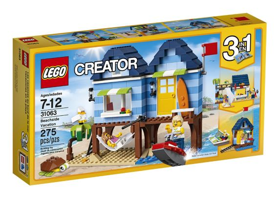 Lego Creator Beach House, 275-pcs Product image