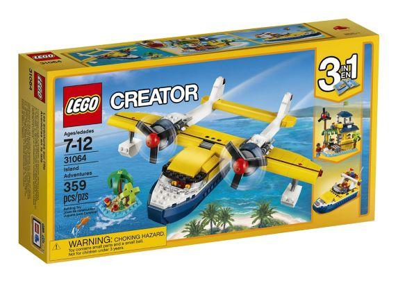 Lego Creator Island Adventures, 359-pcs Product image
