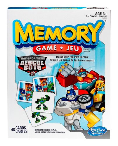 Hasbro Memory Game, Assorted
