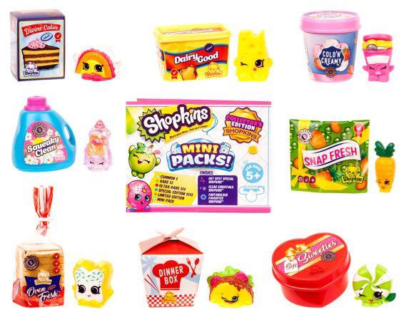Shopkins Season 10 Mini Packs Shopper Pack, Assorted Product image