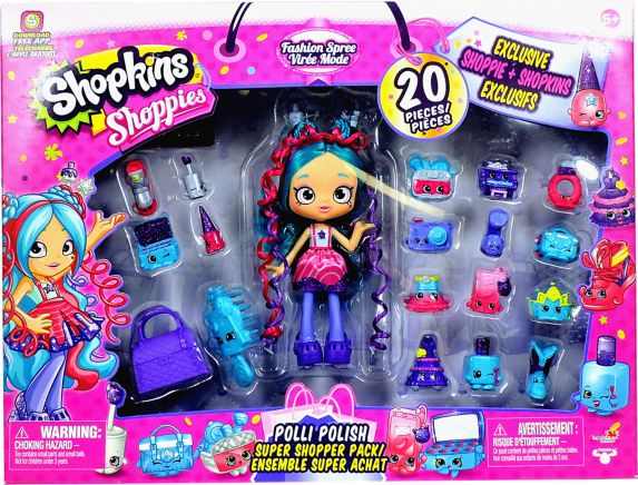 Shopkins Shoppies Super Shopper Pack, Assorted Product image