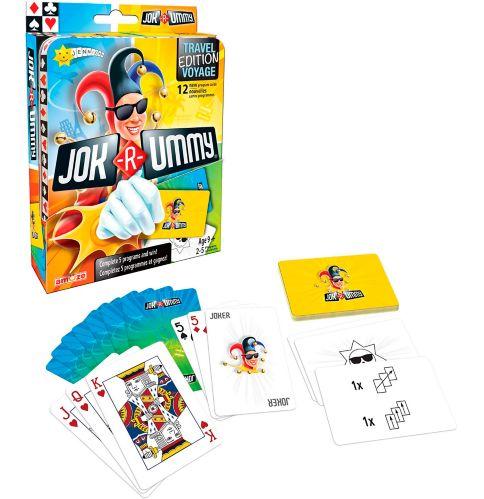 Jok R-Ummy Travel Edition Game, English/French Product image