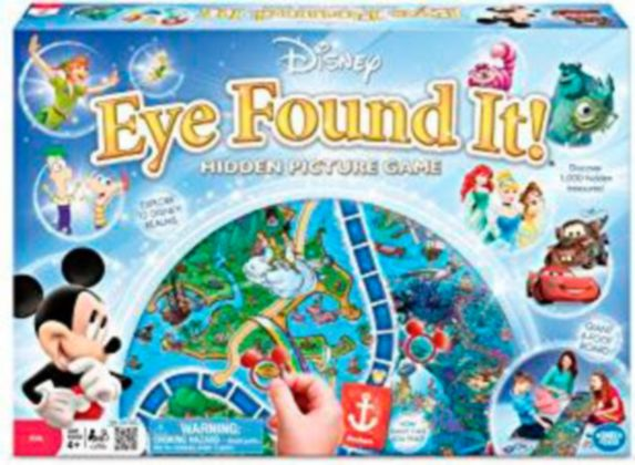 Disney Eye Found It Board Game Product image