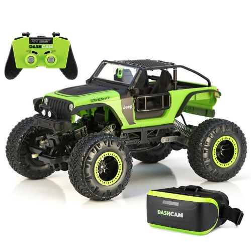1:14 R/C Dash Cam Trailcat Rock Crawler Jeep