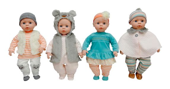 Gingham & Buttons Kisses & Cuddle Doll Product image
