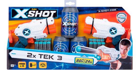 X-Shot Excel Double MK 3 Foam Dart Blaster Combo Pack by ZURU Product image