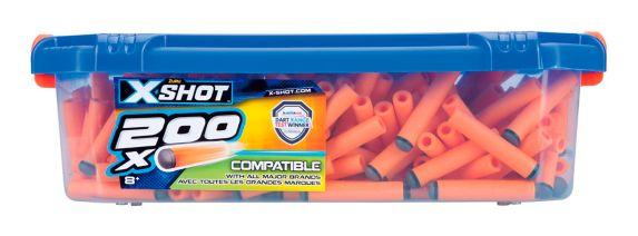 X-Shot Excel Universally Compatible Foam Darts Refill Box by ZURU, 200-pk Product image