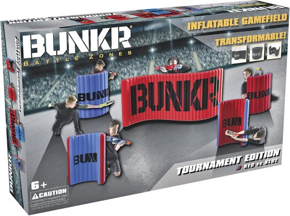 BUNKR Battle Zones Inflatable Gamefield Tournament Edition, Red vs. Blue Product image