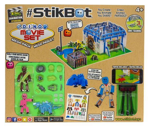 StikBot Mega Pack Dino Movie Set Product image