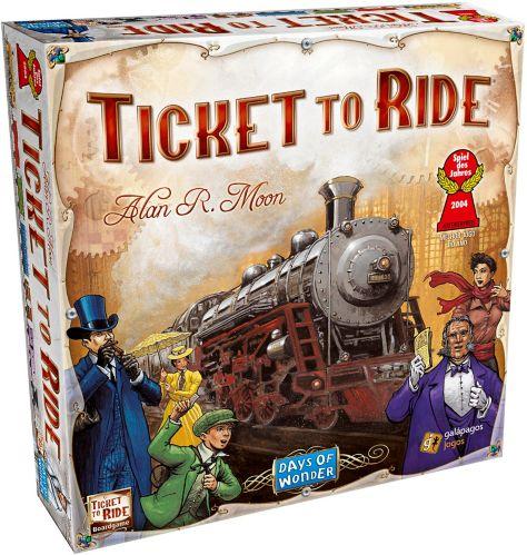 Jeu de société Les Aventuriers du Rail Image de l'article