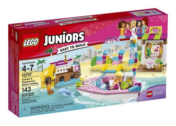 Lego Juniors Beach Holiday, 143-pcs Product image