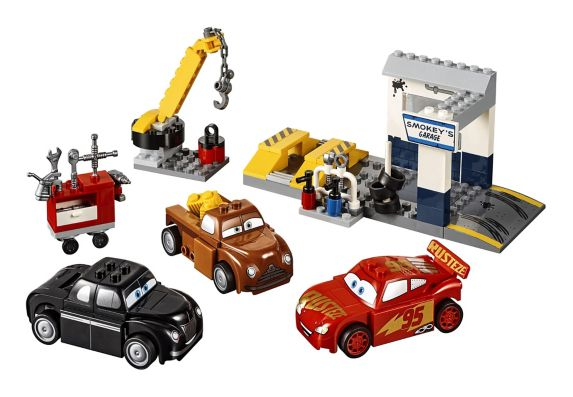 Lego Juniors Les Bagnoles 3, Le garage de Smokey, 116 pièces Image de l'article