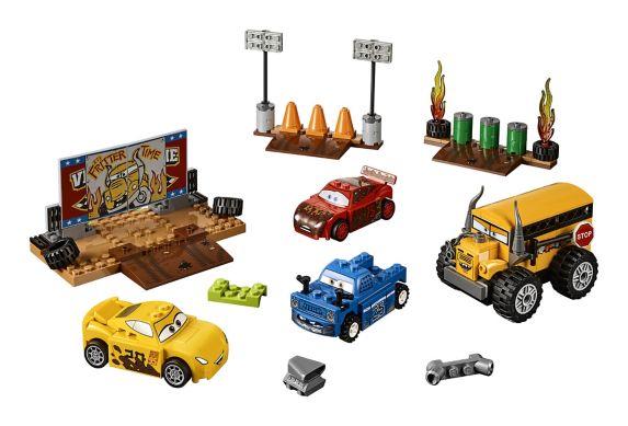 Lego Juniors Cars 3 Thunder Hollow Crazy 8 Race, 191-pc Product image