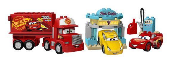 Lego Les bagnoles 3, Le café de Flo, 28 pièces