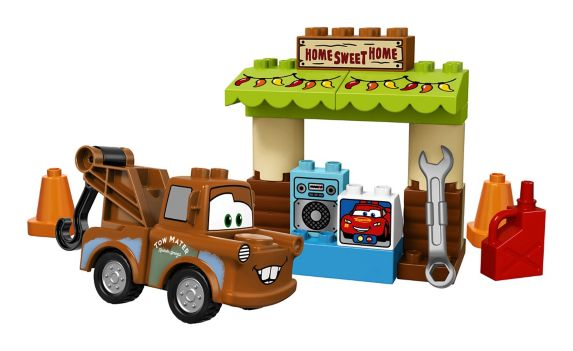 Lego Duplo Cars 3 Mater's Shed, 23-pc Product image