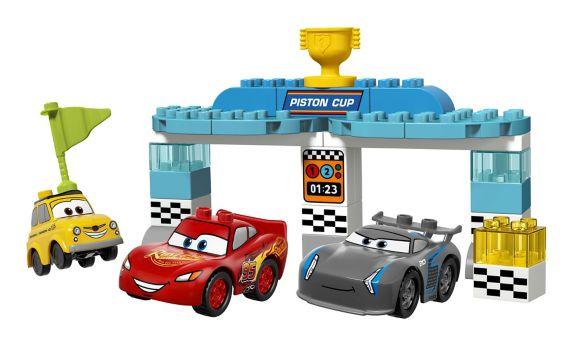 Lego Duplo Les Bagnoles 3, La course de la Coupe Piston, 31 pièces Image de l'article