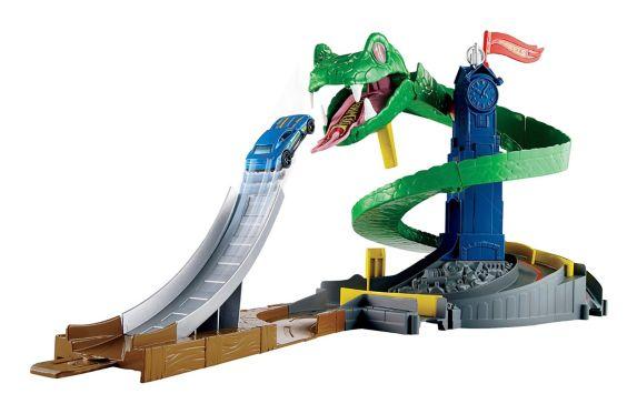 Hot Wheels City Cobra Crush Play Set Product image