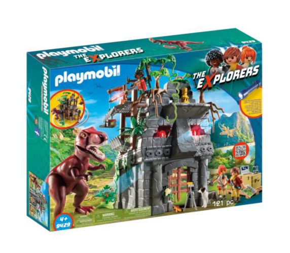 PLAYMOIL Dinos Hidden Temple with T-Rex Playset Product image