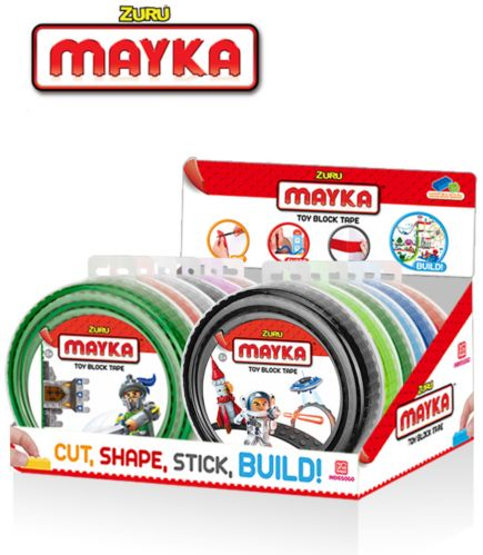 Mayka Toy Block Tape, Assorted, 4-Stud Product image