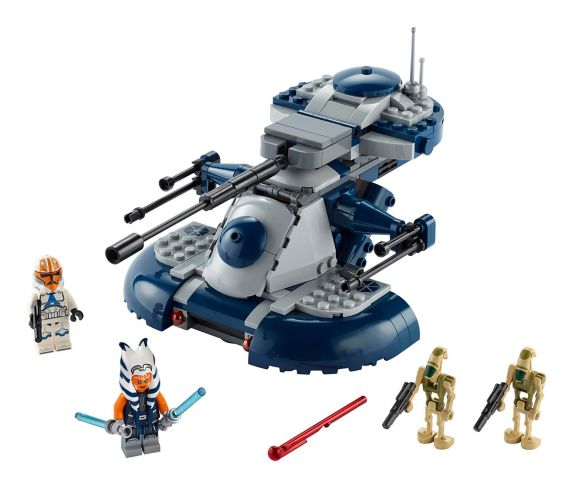 LEGO Star Wars, Le char d'assaut blindé de L'attaque des clones (AAT), 75283 Image de l'article