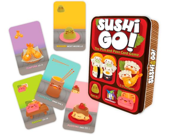 Sushi Go!® The Pick & Pass Card Game