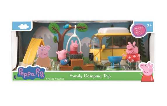 Peppa Pig Family Camping Trip Playset Product image