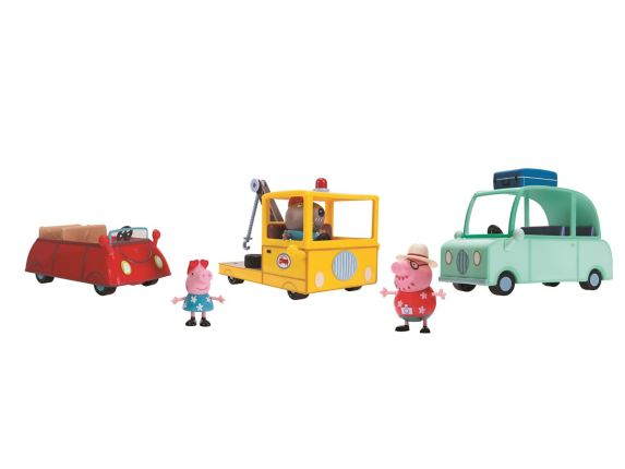Peppa Pig's Rescue Pack Playset
