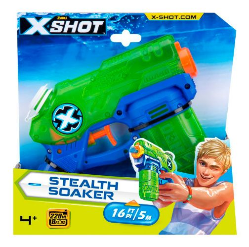 Fusil à eau X-Shot Water Warfare Stealth Soaker par ZURU Image de l'article