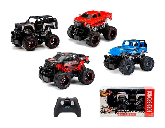 1:24 Scale R/C Full Function Truck, Assorted Product image