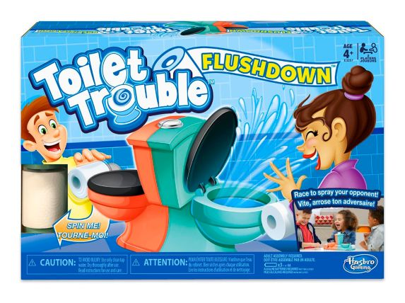 Toilet Trouble Flushdown Game Product image