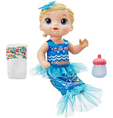 Baby Alive Shimmer 'n Splash Mermaid, Blonde Product image