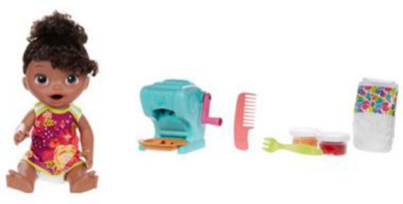 Baby Alive Snacking Shapes Pasta Baby, African American