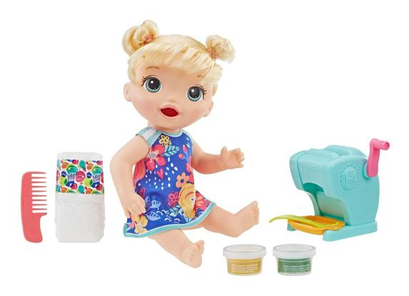 Baby Alive Snacking Shapes Pasta Baby, Blonde Product image