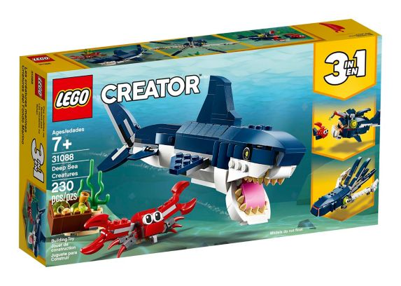 LEGO® Creator Deep Sea Creatures - 31088