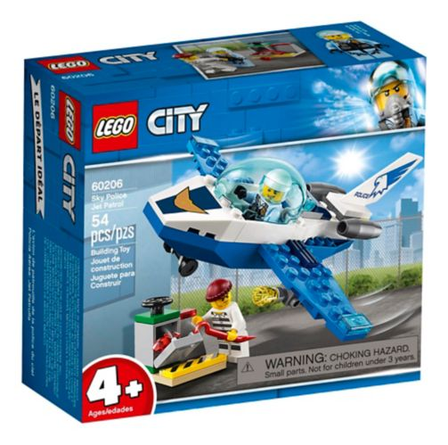 LEGO® City Sky Police Jet Patrol - 60206 Product image